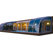 Hot Tub Cover Aluminum Free Standing Pool Enclosure