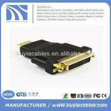 Gold überzogener HDMI zum DVI Adapter-Konverter