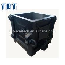 Moldes del cubo del arrabio de la cuadrilla de 100m m una para la prueba de la compresión