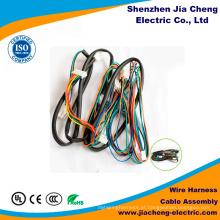 Chicote de fios médico personalizado do fio do painel da glicemia do cabo dos OEM Lvds
