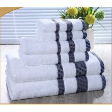 Ensemble towel 100% coton coloré en dobby