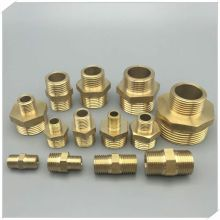 "1/8"" x 1/2"" Brass Hex Bushings"