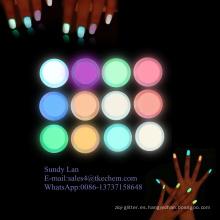 Polvo de pigmento brillante para esmalte de uñas / plástico / pintura y tinta