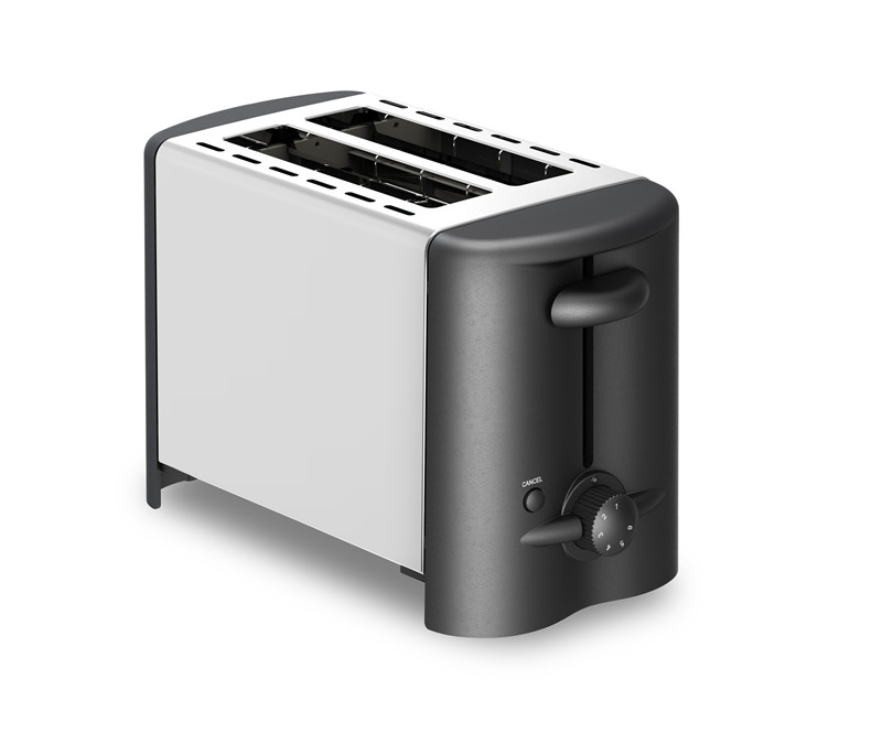 Electric Home Use Stainless Steel 2 Slicers Bread Toaster