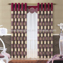 Blackout Feature and solid mesh Style Blackout curtain