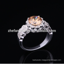 2018 fashion 925 italian silver ring