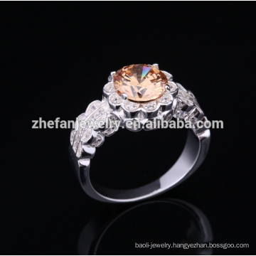 2018 fashion 925 italian silver ring