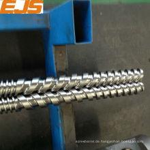 Bimetall Doppelschnecken für Twin Schraube extruder