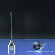 2-Piece Titanium Carb Cap para 14mm 18mm Domeless clavos (ES-TN-006)