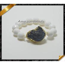 Art- und Weisegroßverkauf-Stein bördelt Armband (CB025)