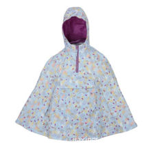 Waterproof Poncho, Made of 100% Polyester 210T Taffeta with PU CoatingNew