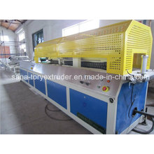 Rigid Plastic PVC Profile Extruder Machine