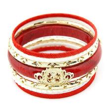 Multicamadas graciosas mais quentes Bracelete turco da liga