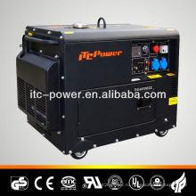 Низкошумный дизельный генератор мощностью 5 кВт