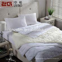Vendedor caliente de la alta calidad del surtidor de Guangzhou Venta al por mayor del precio barato de la cubierta del colchón del hotel