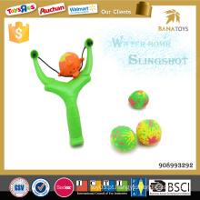 Novo esporte brinquedos slingshot brinquedo com bola de água
