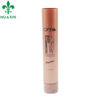 Tapón de tubo de cono crema de eliminación de manchas de plástico oscuro de 125 ml