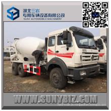 Caminhão norte do misturador do trânsito de 9 Cbm do veículo com rodas do Benz 10