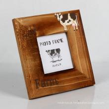 A imagem por atacado da marca do FQ caçoa o quadro de madeira animal da foto