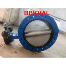 Centric U Type Double Flange Butterfly Valve