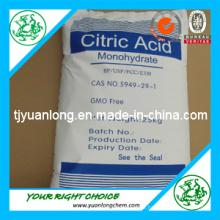Lebensmittelqualität Zitronensäure Mono / wasserfrei / Monohydrat (CAA)