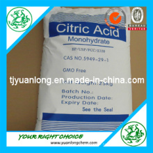 Aliments acides acide citrique Mono / Anhydre / Monohydrate (CAA)