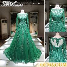 Alibaba vêtements de mariée en Chine plus la taille sur mesure robe de soirée vente en gros