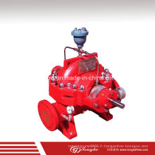 Pompes anti-incendie listées UL avec moteur UL et panneau de commande