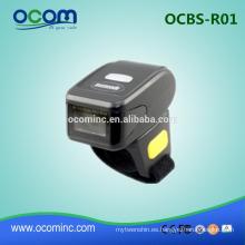 OCBS-R01: 2016 nuevo mini anillo de escáner de código de barras bluetooth