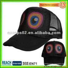 Drucke große Augen Trucker Mütze ATC-1259