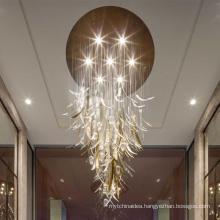 Designer Charm Scandinavian Lamp Nordic Glass Lampwork Pendant