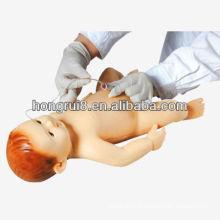 Modèle d'entrainement du mannequin et des soins infirmiers pour bébés