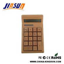 Luxury Desktop Bamboo Material 12 Digit Calculator