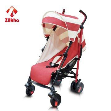 Cochecito de bebé con marco y asiento