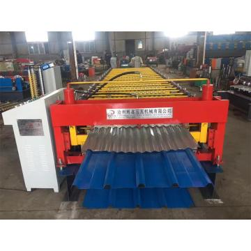 Metal+roofing+double+layer+roll+forming+machine