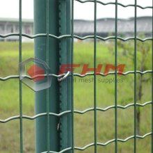 PVC Galvaniserad Welded Wire Euro Fence