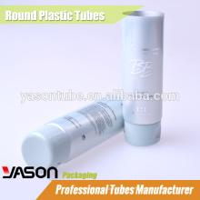 Tubo redondo de aluminio de pared delgada para loción corporal