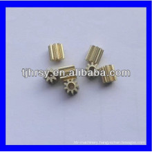 Brass pinion, Small pinion, small brass gear