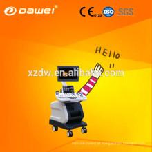 Trole do uso do hospital ecografia ultra-som barato do doppler da cor do preço com preço livre da mão 3d & 4D USG