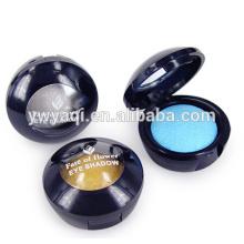 Yaqi cosméticos al horno en polvo con negro alrededor de contenedores de polvo