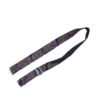 Silk Jacquard Woven Adjustable Bow Tie Straps