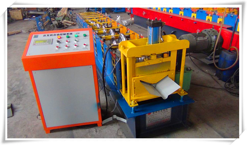 DX new-type Ridge tile roll forming machine