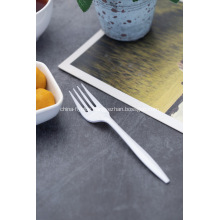 Hot Sale White Plastic Cutlery Forks