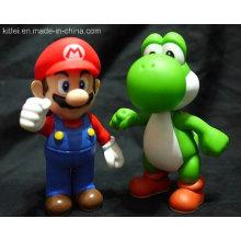 Custom Action Abbildung PVC Rotocast Spielzeug für Weihnachten Promoption