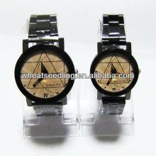 Relógio dom relógio de luxo conjunto para casal JW-34