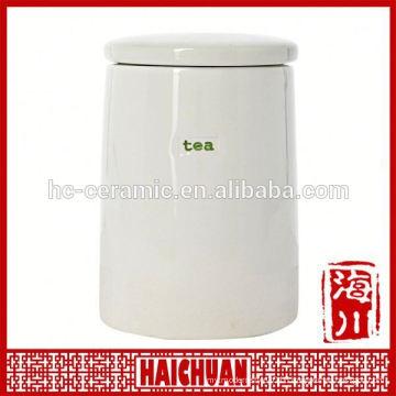 Unpainted plain cheap ceramic Honey Pot