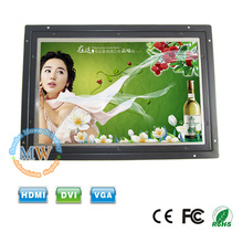 1280x800 high resolution open frame LCD monitor 10 inch with 12v dc input