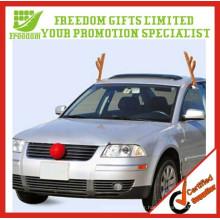 Vente chaude voiture Antlers décoration et ensembles nez rouge