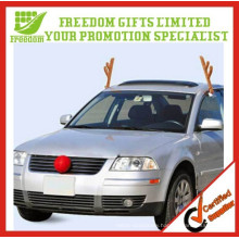 Hot Selling Car decoration Antlers and Red Nose Sets