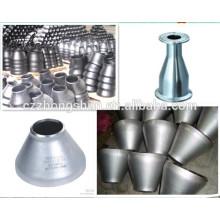 Réducteur concentrique / Réducteur concentrique d'acier au carbone ANIS / Réducteur concentrique de soudure sanitaire en acier inoxydable